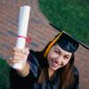 High-school-girl-at-graduation
